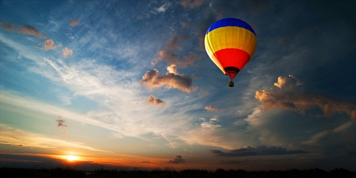 $159 -- Scenic Hot Air Balloon Ride w/Bubbly, Reg. $299