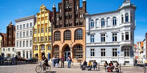 69 € -- Ostseesommer für 2 in Stralsund mit Meerblick, -44%