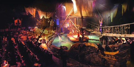 $29 -- Holiday Family-Friendly Pirate Dinner Show, 55% Off