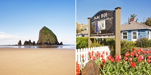 Travelzoo Deal: $169 -- Oregon Coast: 2-Night Cannon Beach Escape, Reg. $318