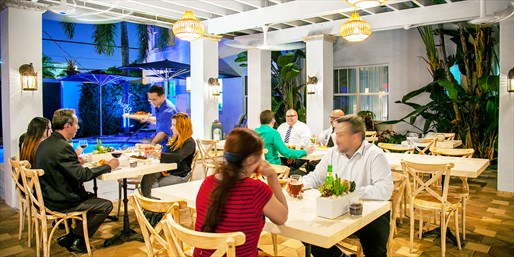 $39 -- FIX at Blue Moon: Dinner & Drinks for 2, Save 50%