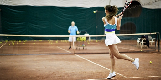 $148 & up -- Tennis Clinics at 'Best of NY' Clubs, Save 50%