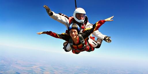 $149 -- Tandem Skydive: 120 mph Free Fall, Reg. $245