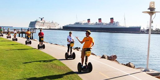 $40 & up -- Long Beach: Seaside & City Segway Tours