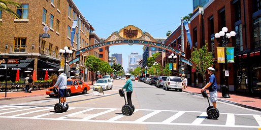 $49 & up -- 50% Off Segway Tours in Gaslamp or Balboa Park