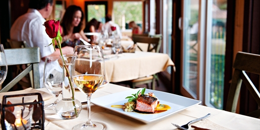 $99 -- 'Secluded & Peaceful' Applewood Dinner for 2 w/Wine