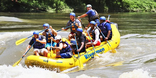 $149 -- 2-Night New River Rafting & Zip-Lining Trip, 50% Off