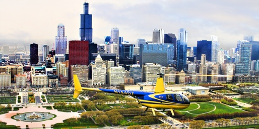 Skyline & Sunset Helicopter Tours for 2, Save 40%