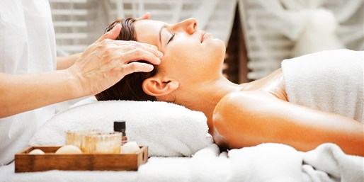 $55 -- Alpharetta: Massage or Facial w/Champagne, Reg. $120