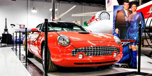 $19 -- Miami Auto Museum incl. James Bond Cars, Half Off