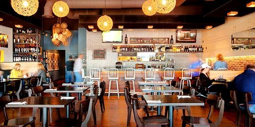$15 --  Greek Dinner or Lunch for 2 at Taverna Blu, 40% Off