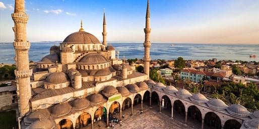 99 € -- Istanbul entdecken: Luxushotel in der Altstadt für 2