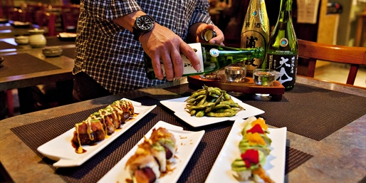 $25 -- Japon Bistro: Apps & Sake Flights for 2, Reg. $56