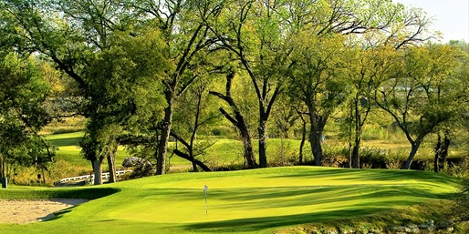 $29 -- Champions Circle Golf: 18 Holes w/Cart, Reg. $69