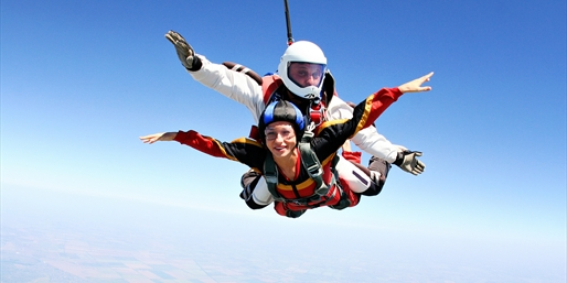 $169 -- Tandem Skydive from 13,000 ft. w/DVD, Reg. $339
