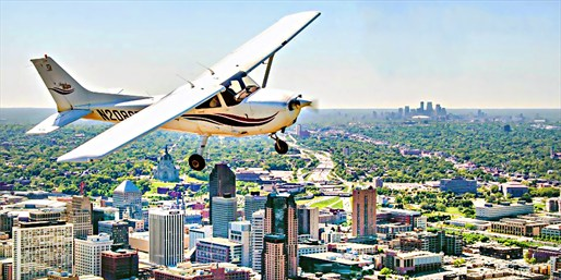 $89 -- Custom Flight Lesson over the Twin Cities, 50% Off