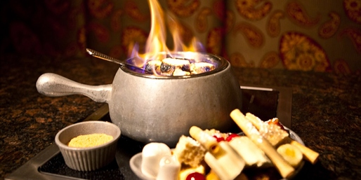 $45 -- Simply Fondue: Award-Winning Dinner for 2, Reg. $90