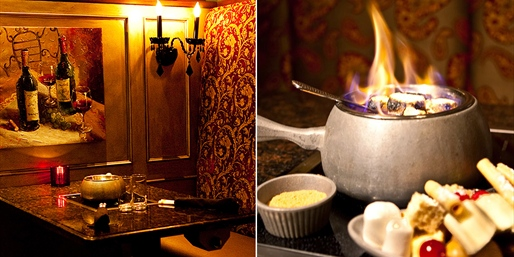 $45 -- Simply Fondue: Half Off 4-Course Dinner for 2