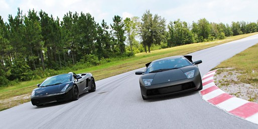 $125 -- Drive a Lamborghini on Race Track, Reg. $249