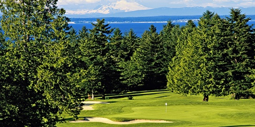 $79 -- Port Ludlow Golf: 18 Holes w/Cart for 2, Reg. $168