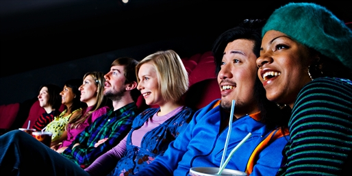 $15 -- Movie Tickets & Popcorn for Two, Save 50%