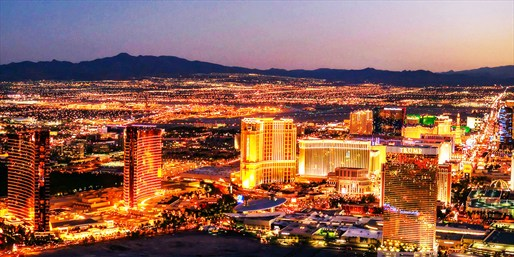 $69 -- Day or Night Helicopter Tours over Las Vegas Skyline