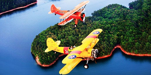 $89 -- Scenic Flight in Vintage Biplane, Reg. $178
