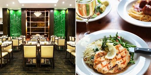 $55 -- Hilton Markham: Friday Dinner for 2 w/Wine, Reg. $103