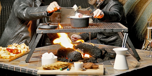$69 -- Harborside: Firepit Fondue & S'mores for 4, Reg. $112