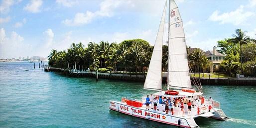 $39 -- Palm Beach 3-Hour Cruise w/Water Sports, Half Off