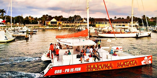 $15 -- Sunset Sailing Cruise w/Skyline Views, Save 50%