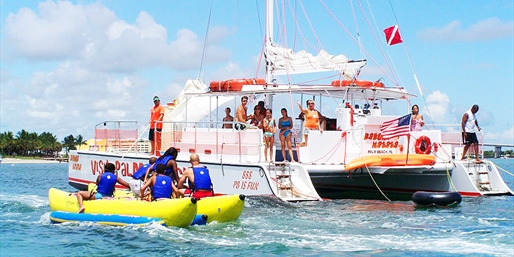 $25 -- Catamaran Cruise w/Drinks, Snorkeling & Swimming