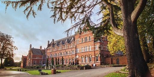 £89 -- 'Wonderfully Grand' Malvern Hills Abbey Stay, 58% Off