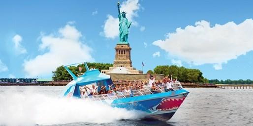 $14 -- Speedboat Thrill Ride through NY Harbor, 50% Off