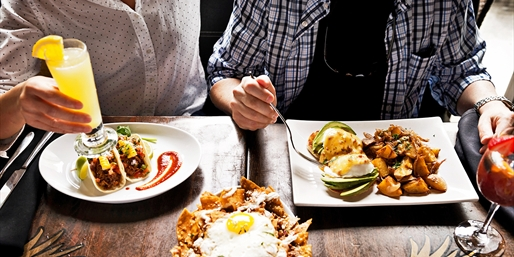$39 -- 'Trendy' Mexican Brunch for 2 w/Drinks, Reg. $70