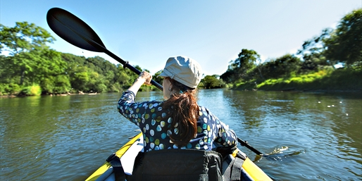 $45 -- Potomac River Kayak Tours thru September, Reg. $95