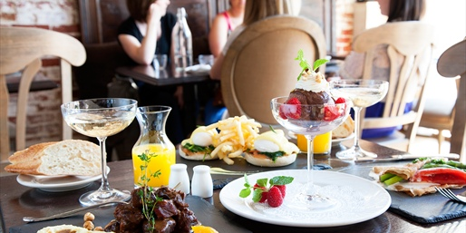 $45 -- French Brunch for 2 w/Bottle of Sparkling Wine