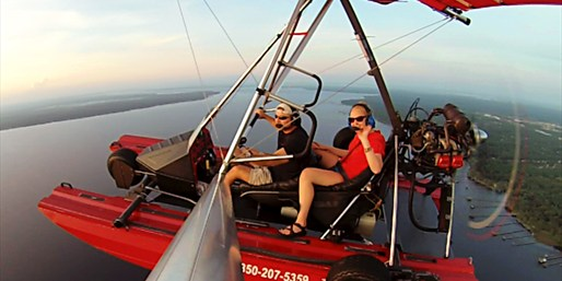 $99 -- Powered Hang Gliding over Honeymoon Island, Save 55%