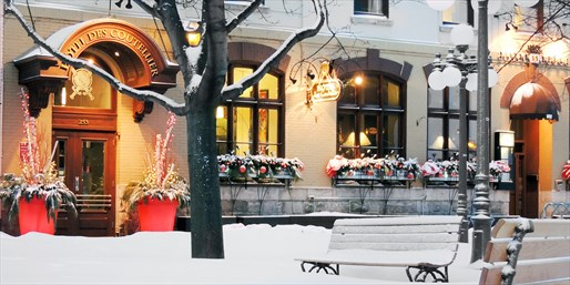 $119 -- Quebec City Romantic Escape w/Breakfast, Save 35%