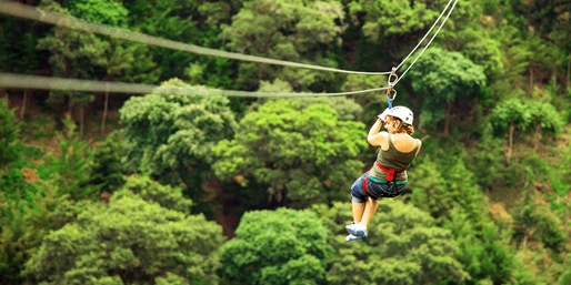 $39 -- An Outdoor Rush: CBS-Praised Zip-Line Tour, Reg. $69