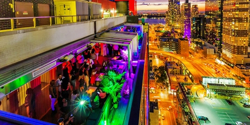$39 -- NY 'Best' Rooftop: Cocktails & Apps for 2, Reg. $92