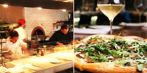 $35 -- 'Crowd-Pleasing' Pizza & Wine for 2 in SF, Reg. $66