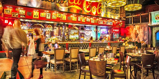 $20 -- Havana 1957: Cuban Dinner & Drinks for 2, Reg. $40