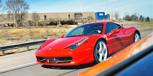 $89 & up -- Ferrari or Lamborghini Dream Drive, 40% Off