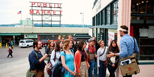 $19 -- Top-Rated Tour for 2 at Pike Place Market, Reg. $30