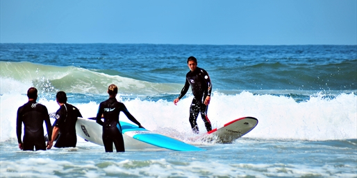 $49 -- Newport Beach: 2-Hour Surfing Lesson, Reg. $150