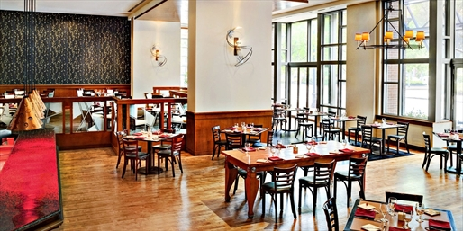 $45 -- Le Meridien: Dinner for 2 in Cambridge, Reg. $84