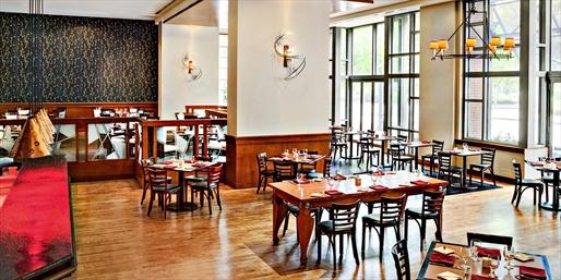 $45 -- Le Meridien: Dinner for 2 in Cambridge, Reg. $84