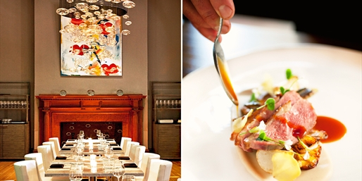 Le Meridien: Up to 45% Off 'Best French' Dinner w/Wine,