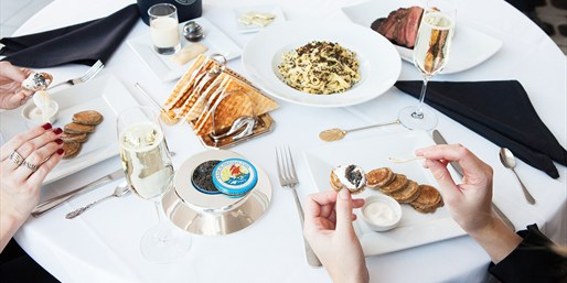 $149 -- Petrossian: Caviar-Tasting Dinner for 2 w/Moet